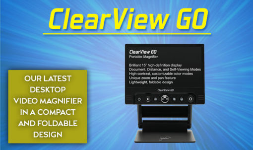 Optelec ClearView GO Portable Magnifier