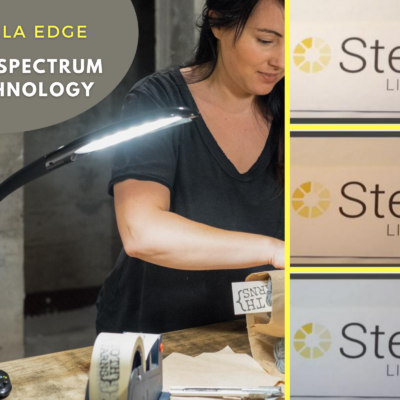 Image of Stella Edge LED light and 3 color options